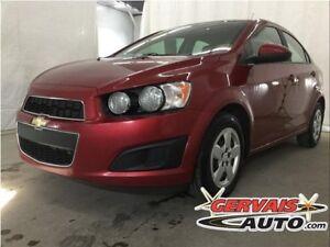 Chevrolet Sonic LS A/C Automatique 2014