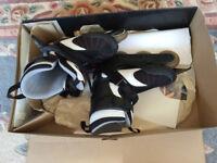 New - Kid's fabric Toggic Roller Blades, UK size 0 - 2