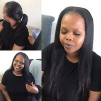 Affordable & mobile hairstylist, flawless weave install/braids