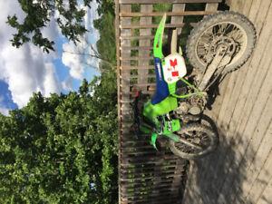 1988 kx500 Dirt bike