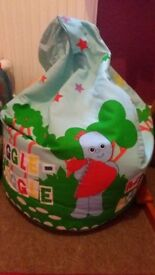 In The Night Garden Bean Bag