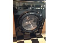 Sleek Black Hotpoint Aquarius Washer/Dryer - Excellent Condition