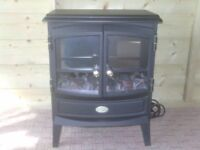 ELETRIC FIRE WITH COAL EFFECT LIGHT £50