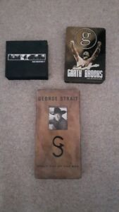 Johnny Cash Garth Brooks George Strait box sets for sale
