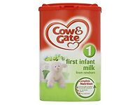 Cow & Gate First Infant Milk - £52 Per Case (17 Pallets Available)