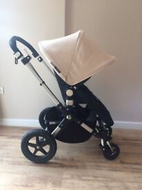 Bugaboo Cameleon 3 with 'Off White' hood. Excellent condition.