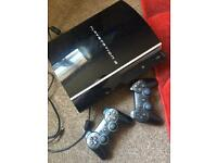Ps3 for sale + games + 2 controllers