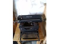 Old Imperial Typewriter