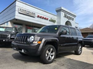 2016 Jeep Patriot HIGH ALTITUDE,LEATHER,HTD SEATS,ALLOYS,
