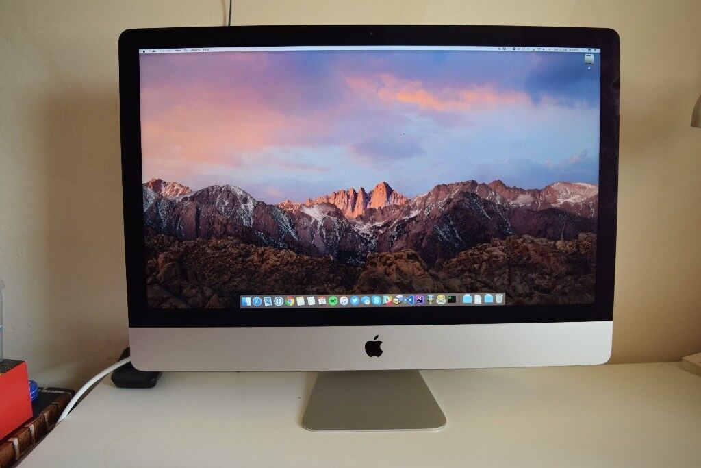 "Apple iMac 27"" Late 2012 3.4GHz 32GB RAM 1TB Fusion Drive Boxedin Washington, Tyne and WearGumtree - Apple iMac 27"" late 2012 model for sale this was a custom build, so includes the 3.4GHz Core i7 CPU, plus the 1.1TB fusion drive. This was my primary machine for the last 4 years, and has never once let me down no issues whatsoever. Its been an..."