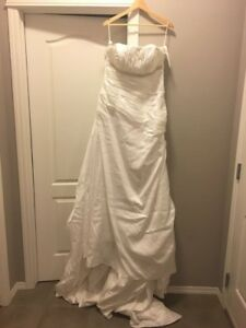 Wedding dress & petticoat