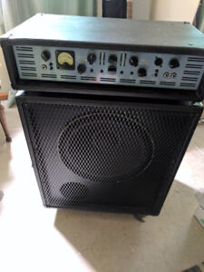 Bass head and cabinet