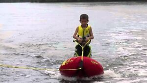 Toddler/ child  ezwake board trainer for boat by airhead