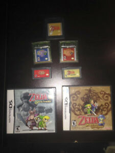 The Legend of Zelda portable games (GBC, GBA, NDS)