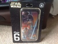 """I Phone 6 """"Star Wars"""" Case NEW AND SEALED FROM Walt Disney World Florida"""