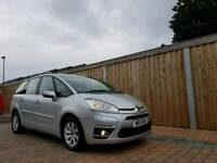 2011 CITROEN GRAND C4 PICASSO VTR+ HDI ONLY 51000 MILES FINANCE & WARRANTY