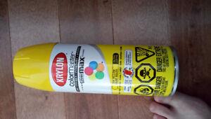 Krylon Colormaster Gloss, Sun Yellow