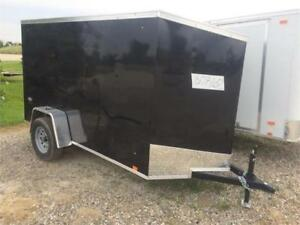 Brand New 2018 5x10 LOOK Enclosed Utility Trailer