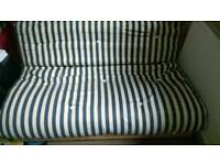 Futon, double sofa bed