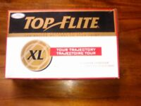 Fifteen Brand New Top Flite Golf Balls still in original packaging unused excellent condition.
