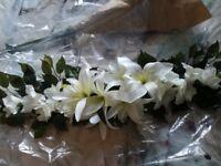 Artificial wedding flowers Lilies