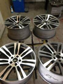 "Genuine BMW X5 / X6 20"" Alloy Wheels"