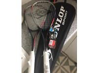 Squash Racquets x 2