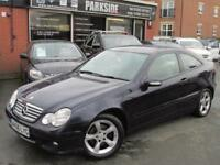 2006 (56) MERCEDES-BENZ C-CLASS 2.1 C200 CDI SE SPORTS 3DR Automatic