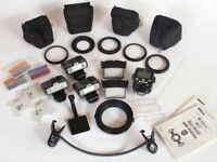 Nikon R1C1 close up commander kit with 3 flash units