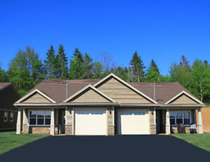 New 2 Bed Semi-Detached Empty Nest Home in Windsor NS