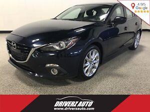 2014 Mazda Mazda3 GT-SKY CLEAN CARPROOF, LOADED GT, BLIND SPO...