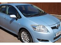 TOYOTA AURIS 1.4 vvti 16v 2007 PETROL 5 door MOT (HPI CLEAR) ~1 owner~all electric windows & mirrors