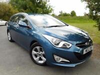 2014 Hyundai i40 1.7 CRDi [115] Blue Drive Active 5dr Bluetooth! Low Miles! ...