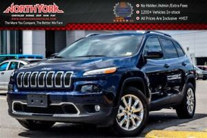 2016 Jeep Cherokee Limited 4x4|Pano_Sunroof|Nav|Leather|HTD Frnt