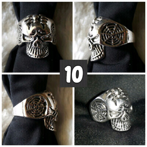 NEW Men's Skull Rings