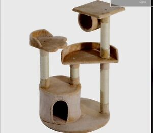 """New 38"""" cat tree , condo and Scratching post"""