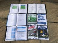 8 football coaching manuals