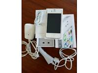 iPhone 4s white 8gb on EE, Orange, T-Mobile & Virgin