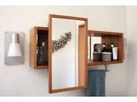 Molger Ikea bathroom cabinet