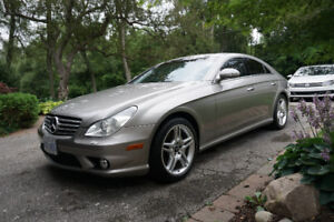 2007 CLS550 AMG package REAL LOW MILEAGE