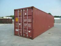 "40' X 8' Hi cube container 9'-6"" High"