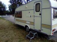 Windrush 132 2 berth caravan no damp full awning coachbuilt light weight caravan 760 kg
