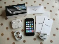 iPhone 4 black 8GB unlocked BOXED