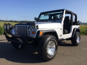 "2005 jeep tj ""SILVER BEAUTY"""