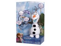 Disney Frozen Stretch & Slide Olaf with 10+ Sounds and Phrases - New in Box