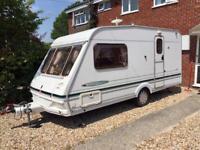 Abbey freestyle 470 SE 2 birth 2002 caravan in excellent condition