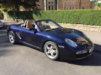 2005 Porsche Boxster, manual, sat nav, Bose, ISOFIX.