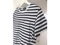 APC men's striped t-shirt   Small   RRP £65