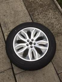 Land Rover freelander2 alloy wheel