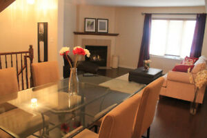 3 BR FURNISHED townhouse, Kanata, ALL INCLUSIVE, Sept. 1